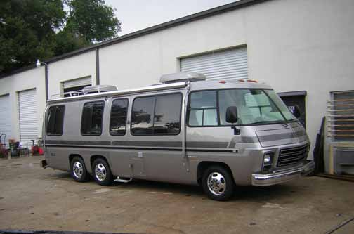 Gmc Motorcoach Projects