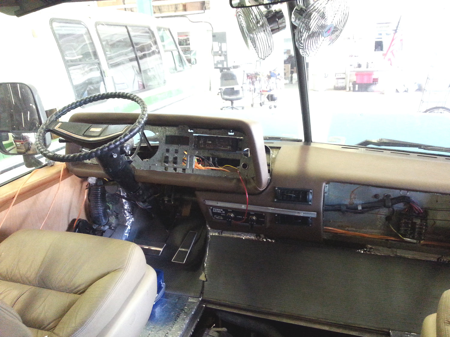 Gmc Motorhome Dash Ac Project Done